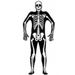 Déguisement Combinaison de Squelette Taille Unique