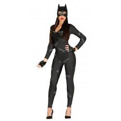 Déguisement de Femme Chat Noir, Taille Unique