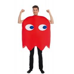 Déguisement Combinaison Fantôme Rouge Taille Unique