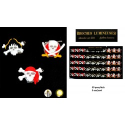 Broche Lumineuse Pirate