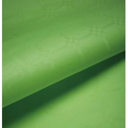 Nappe En Papier Damassé Vert Pomme En Rouleau 1,18 x 25 m