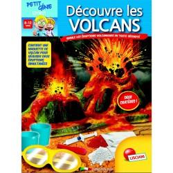 Petit Génie Decouvre Les Volcans - Lisciani