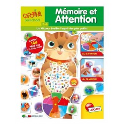 Jeu de Mémoire et Attention - Lisciani