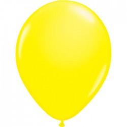 Ballons de Baudruche Fluo Jaune 25 Pièces