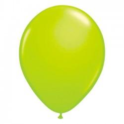 Ballons de Baudruche Fluo Vert 50 Pièces
