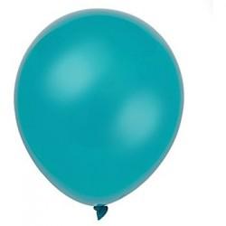 Ballons de Baudruche Métalliques Bleu Lagon 100 Pièces
