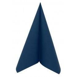 Serviette en Papier Voie Sèche Bleu Marine 40x40cm