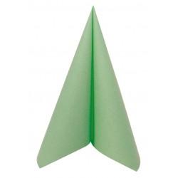 Serviette en Papier Voie Sèche Vert Pomme 40x40cm