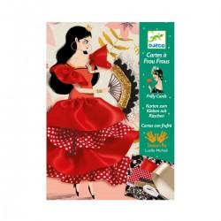 Cartes à Frou-Frous Flamenco - Djeco