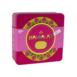 Coffret Créatifs Mandalas Angels Navaro - Apli Kids