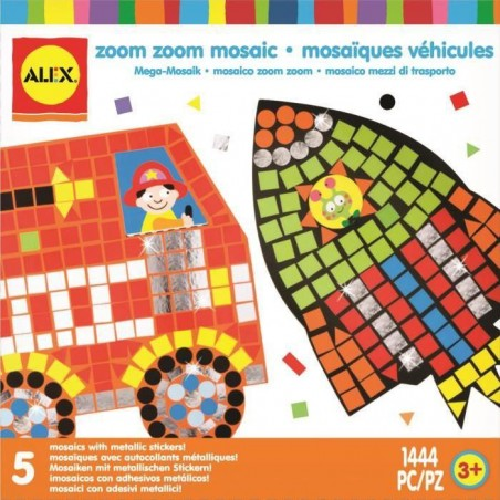 Bricolage Sympa Les Mosaiques Véhicules - Alex