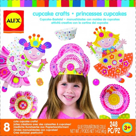 Bricolage Sympa Les Princesses Cupcakes - Alex