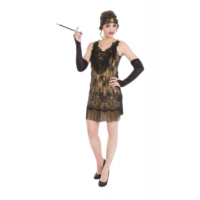 6a22908c58b11 Déguisement Robe Charleston Dorée Années 20 - Coti-Jouets Kermesse Fêtes et  Déguisements Déguisement Taille XS
