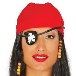 Cache Oeil De Pirate Tissu