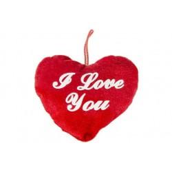 "Peluche Coeur "" Y Love You"" 13cm"