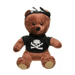 Peluche Ours Pirate 26cm