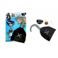 Crochet de Pirate avec Accessoires
