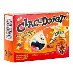 Clac Doigt Le Tigre Boîte d'environ 50 pièces