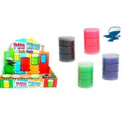 Pâte Slime Fluo Mini Baril 40 Grammes