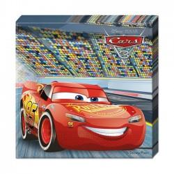 Serviettes en Papier Cars 3 - Disney Pixar