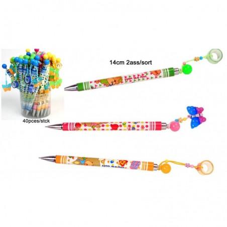 Crayon de Papier Porte Mine avec Pendentif