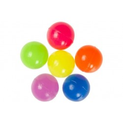 Balle Rebondissante Fluo 30mm