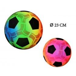 Ballon de Foot Fluo à Gonfler