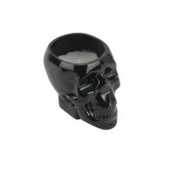 Bougie Crâne Noir Grand Modèle