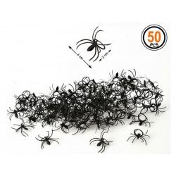 Araignées En Plastique 50 Pièces