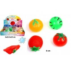 Balle Splatchy Fruit 6cm