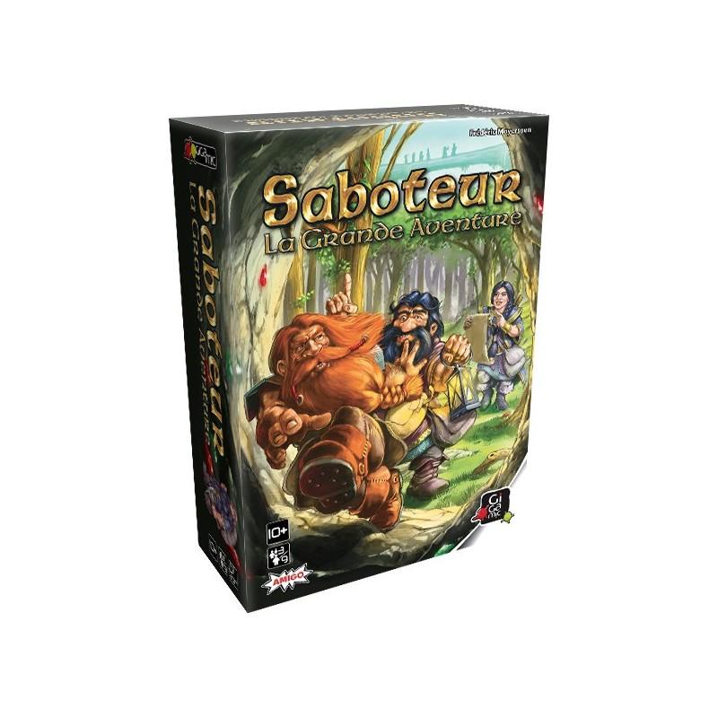 Saboteur, La Grande Aventure - Gigamic