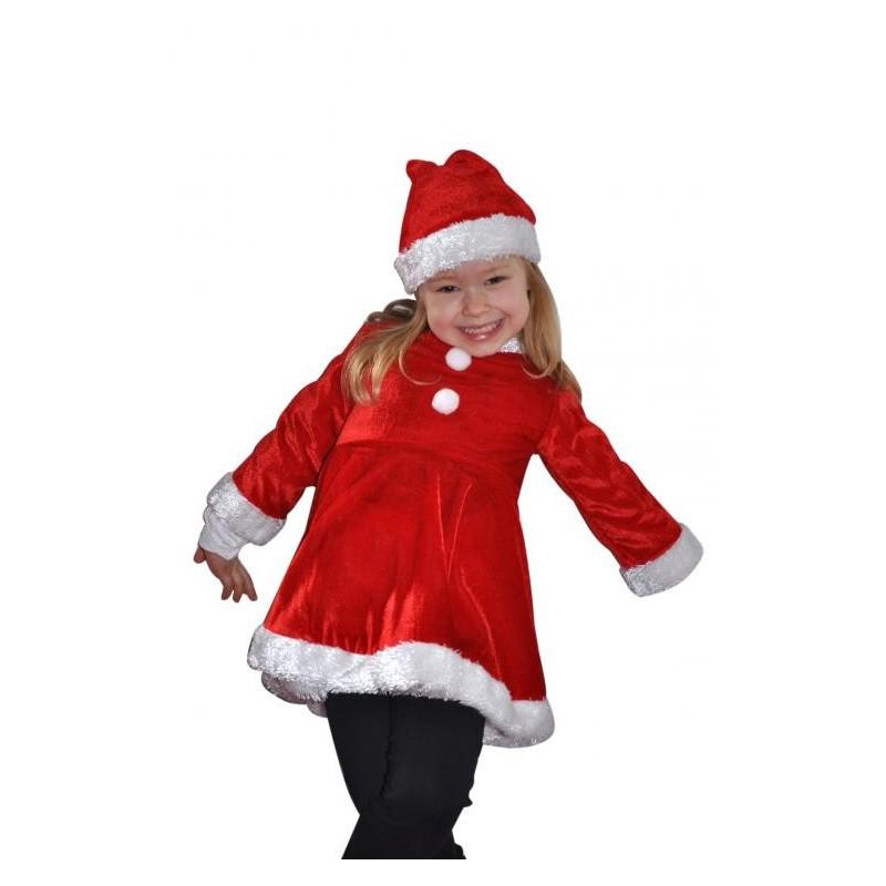 Déguisement Fille Robe de Noël 4 Ans