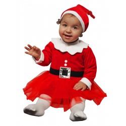 Déguisement Fille Robe de Noël 12-24 Mois