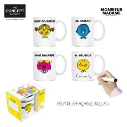 Mug A Personnaliser Monsieur Madame