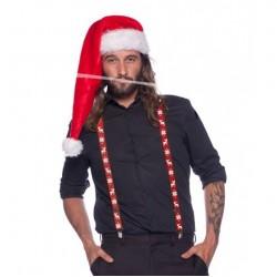 Bretelles Rouge Noël
