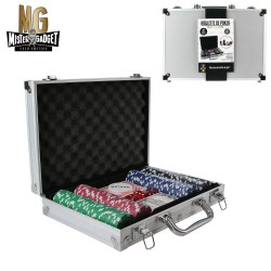 Malette de Poker 200 Jetons 11 Grammes