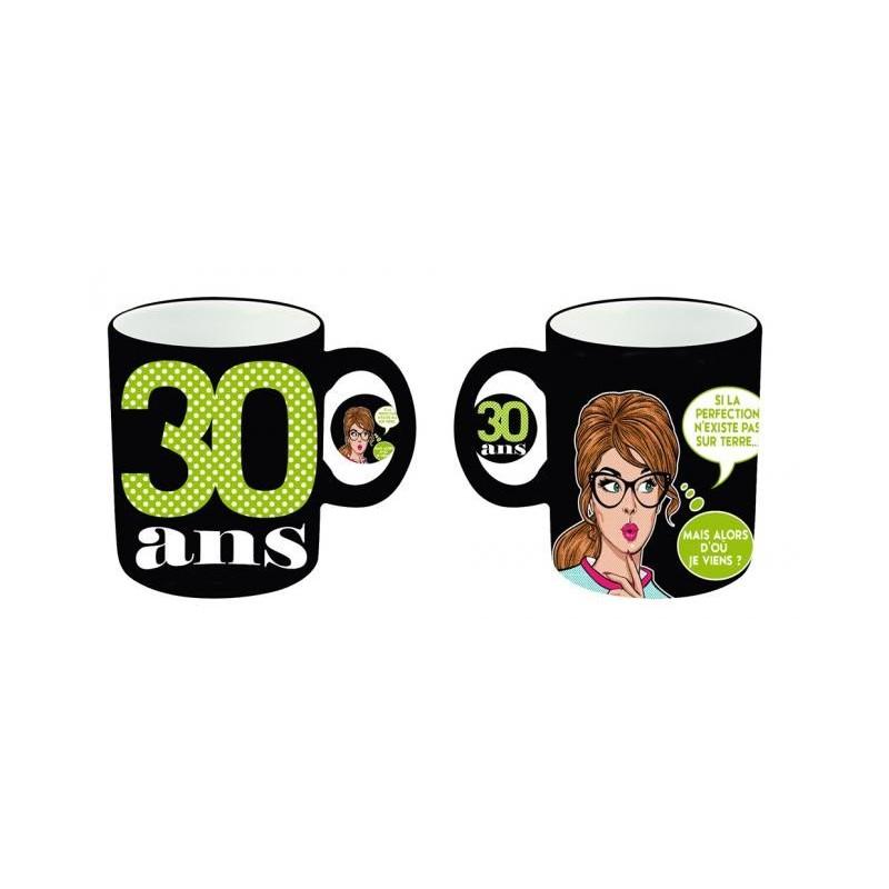 Mug Femme 30 Ans Joyeux Anniversaire Coti Jouetsfr Accesoires De Fetes Et Décoration