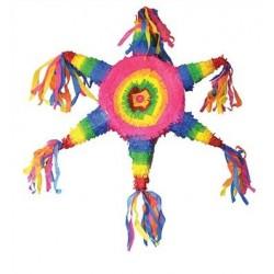 Pinata Etoile Multicolore