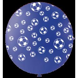 Ballon de Baudruche Géant Bleu Impression Ballon de Foot