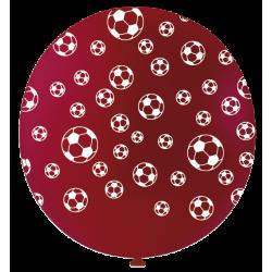 Ballon de Baudruche Géant Rouge Impression Ballon de Foot