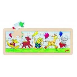 Puzzle Parade des animaux 24 pièces