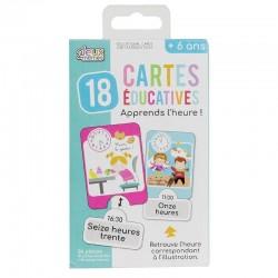 Cartes Educatives - J'apprends L'Heure