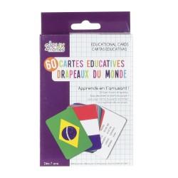 Cartes Educatives - Pays et Drapeaux du Monde