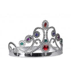 Couronne de Princesse Argentée Adulte
