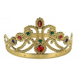 Couronne de Reine Dorée Adulte