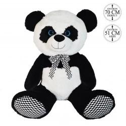 Peluche Panda Noeud Papillon 70cm