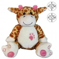 Peluche Girafe Yeux Brillant 67cm