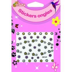 Stickers d'Ongles Pour Enfant