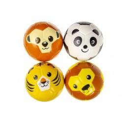 Ballon en Mousse Soft 15cm Animal - Modèles assortis singe, panda, tigre ou lion