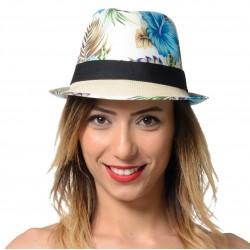 Chapeau Borsalino Hawaï, 3 modèles assortis